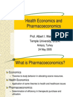 HealthEconomics&Pharmacoeconomics