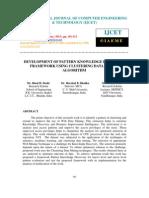 Development of Pattern Knowledge Discovery Framework Using