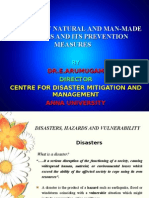 Elements of Natural and Man-made Disasters and Its Prevention Measures arumugam Anna University, Chennai, India1