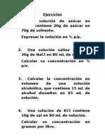 Ejercicios 1 %P-p, %P-V, %v-V, G-L y Ppm