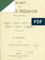 Archiv für slavische Philologie 27