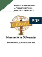 MANUAL BUENAS PRÁCTICAS DE MANUFACTURA AGRO