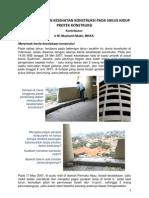 KESELAMATAN DAN KESEHATAN KONSTRUKSI PADA SIKLUS HIDUP PROYEK KONSTRUKSI, Konstruksi Indonesia2009.pdf