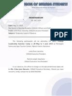 Memorandum 001-1314