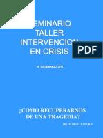 PRESENTACIÓN 1 -INTERVENCION EN CRISIS