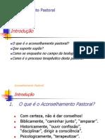 Aconselhamento Pastoral - introdução (slide)
