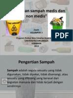 Pemilahan Sampah Medis Dan Non Medis