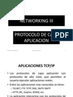 3 Protocolo de Capa Aplicacion