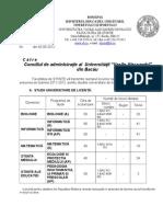 Nr Locuri 2012-2013 Licenta Si Master