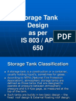 TDI13 Storage Tank Design as Per IS803 and API650