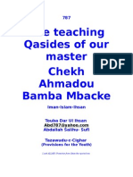 The Teaching Qasides of Shaykh Amodu Bamba
