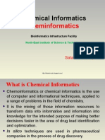 Chemical Informatics, Chemiformatics, Computational Chemistry, Chemical Databases, Computer Aided Drug Design