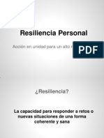 Resiliencia Personal