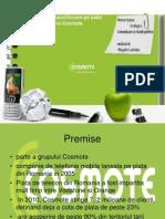 Campanie de rebranding Cosmote