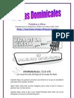 HOJITAS DOMINICALES 9/06/2013