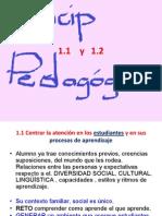 Principio 1 y 2