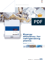Flyer Energy Efficiency for Refrigerating Plants