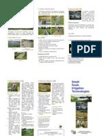 Small Irrigation Technologies