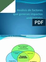 Tema 3 Análisis d factores que geeneran impactos ambientales