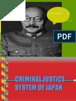Criminal Justice System of Japan