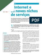 a internet e os nichos de serviços