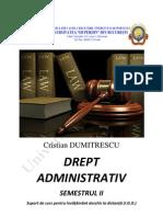 Drept Administrativ an 2 Sem 2