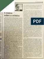Crónica sobre Crónica - Virgílio Ferreira