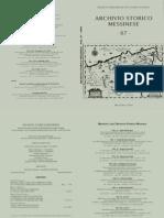 archivio storico messinese vol. 67