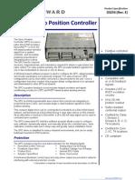 Turbine Servo-Positioner-Contro Woodward SPC