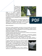 Hidrografía de Guatemala