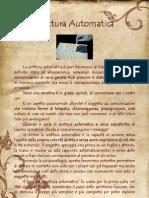 scritturscritturaautomatica.pdfaautomatica.pdf