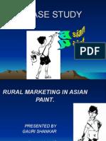 Asian Paint CASE STUDY