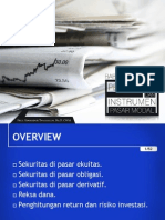 Portofolio & Investasi Bab 2 - Pengertian & Instrumen Pasar Modal
