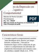 6641761 Tratamento Da Depressao Em Terapia CognitivoComportamental