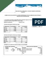 Ejemplos de aplicación-Tarifa vigente desde 15 03 2013