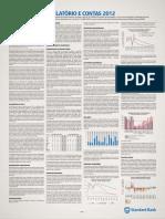 Relatorio Financeiro 2012