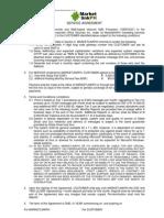 MarketlinkPH SMS  Service Agreement – Inbound SMS Processor v4.00