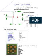 SMA, SMB, SOD123, SOD123F, 1206, MINIMELF, QUADROMELF, SOD80  Adapter Board