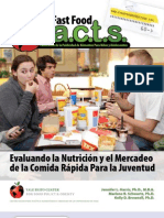 FastFoodFACTS Report Summary Spanish