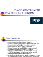 BAB II - Pengantar Ekonomi - Market vs Government