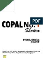 Copal 1 shutter