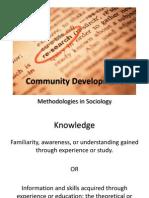 Community Development Course
