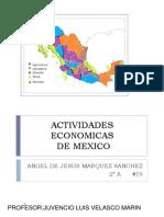 Actividades Economicas de Mexico