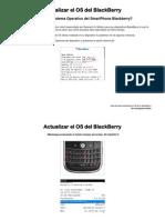 Actualizar el OS de tu BlackBerry (Guía)
