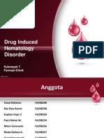 Drug Induce Hematology