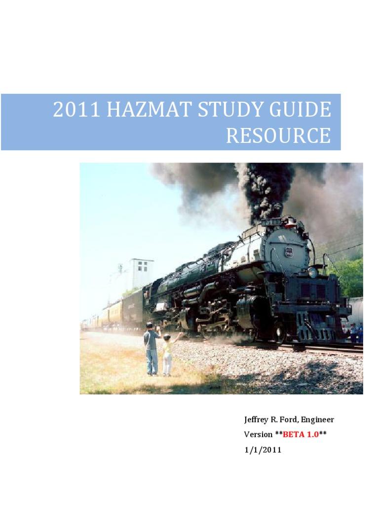 2011 hazmat beta 1 0 study guide resource pdf improvised explosive rh es scribd com Switch Car Switch Car