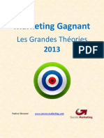 Marketing Gagnant Et Grandes Theories 2013 007
