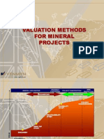 Valuation Methods Mineral Projects