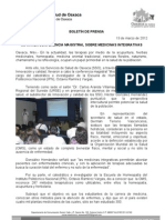 13/03/12 Germán Tenorio Vasconcelos imparten Conferencia Magistral Sobre Medicinas Integrativas