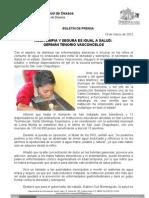 19/03/12 Germán Tenorio Vasconcelos inagura Gtv Bebederos en San Juan Chapultepec